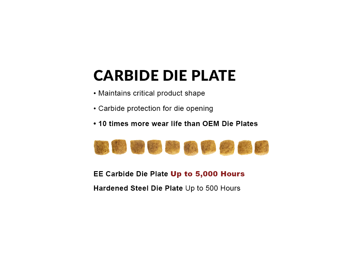Ever Extruder Carbide Die Plate - longer wear life